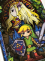 Legend of Zelda Stained Glass 3D Diorama Shadow Box